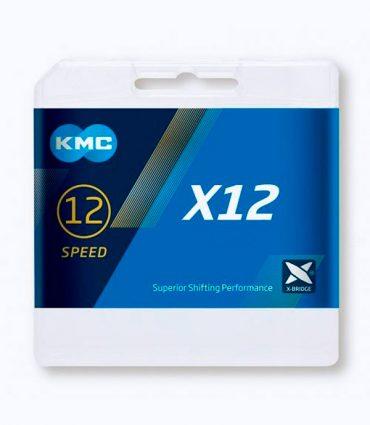 Cadena Kmc X12 1/2×11/128  12 Vel