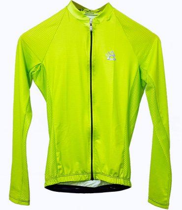Tricota | Verde Limón Manga Larga | Hombre